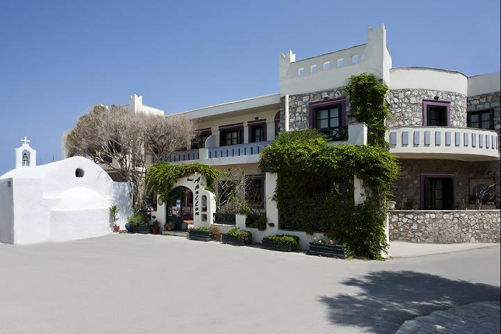 Apollon Hotel in Naxos